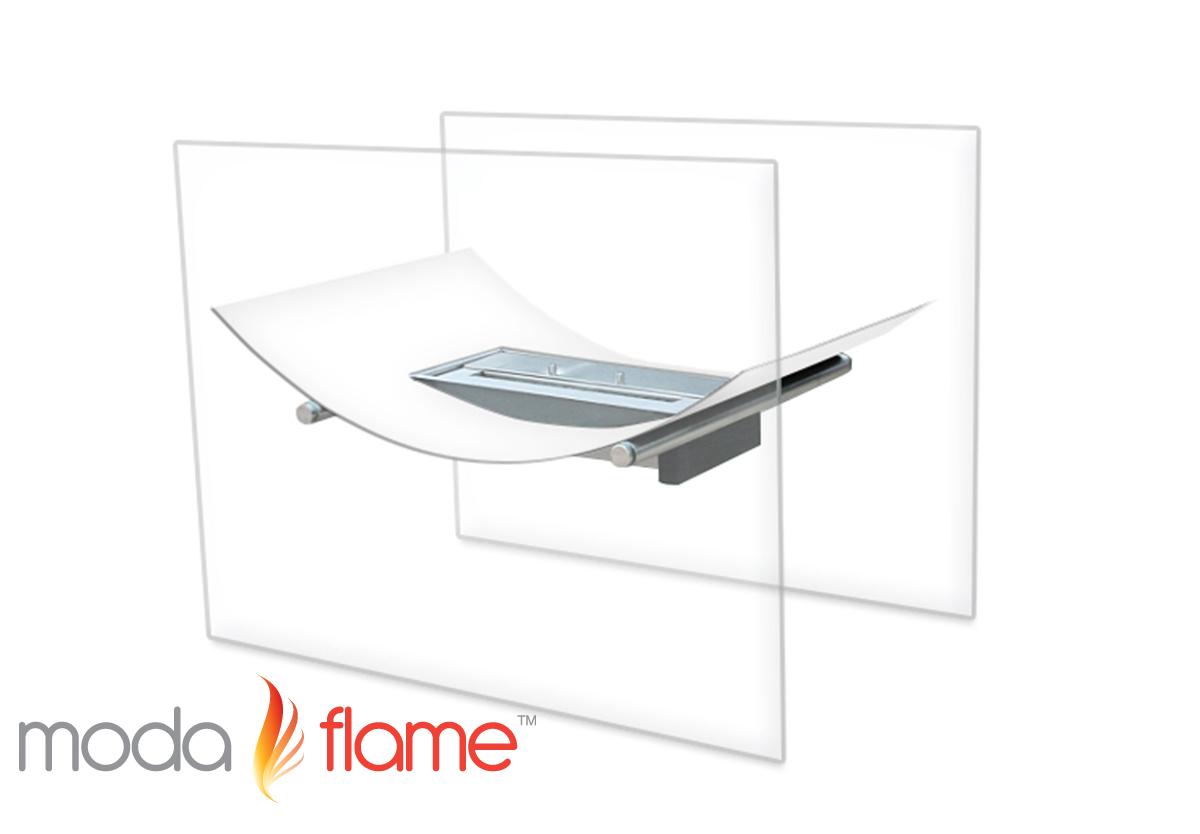 Sienna Free Standing Indoor Outdoor Bio Ethanol Fireplace
