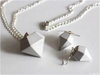 Nhblog modage - Schmuckset: Diamanten aus Beton