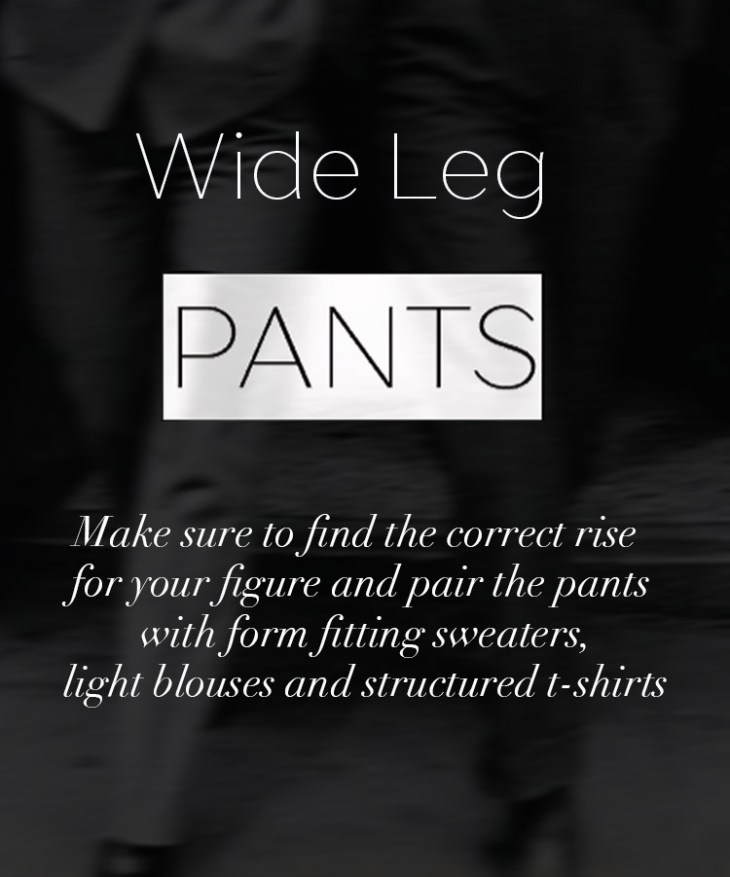 How to: 70's inspired looks with wide leg pants on www.modagrid.com