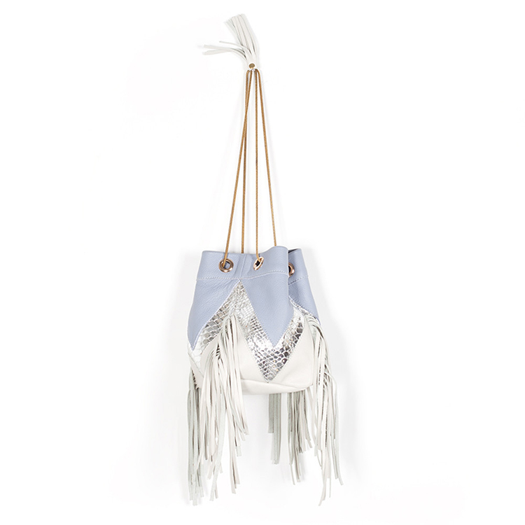 Sabrina fringes bag by BLTRX on www.modagrid.com