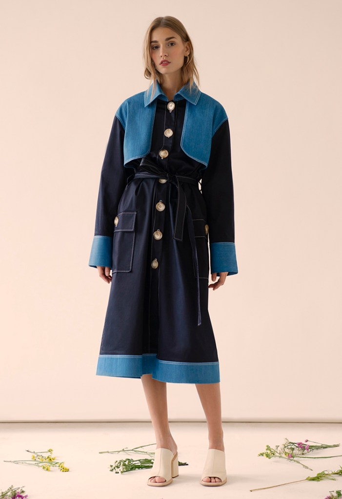 Collared Trench Coat by FLOW the Label on www.modagrid.com