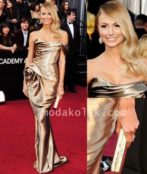 Oscars 2012-stacy keibler