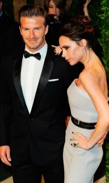 oscar after party-david beckham and victoria beckham