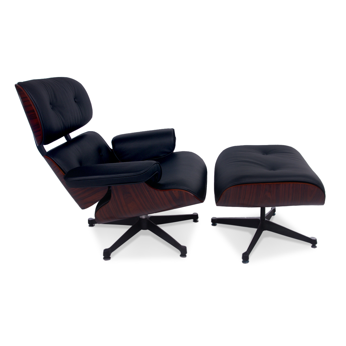 Eames Style Lounge Chair and Ottoman  Modandcomfy