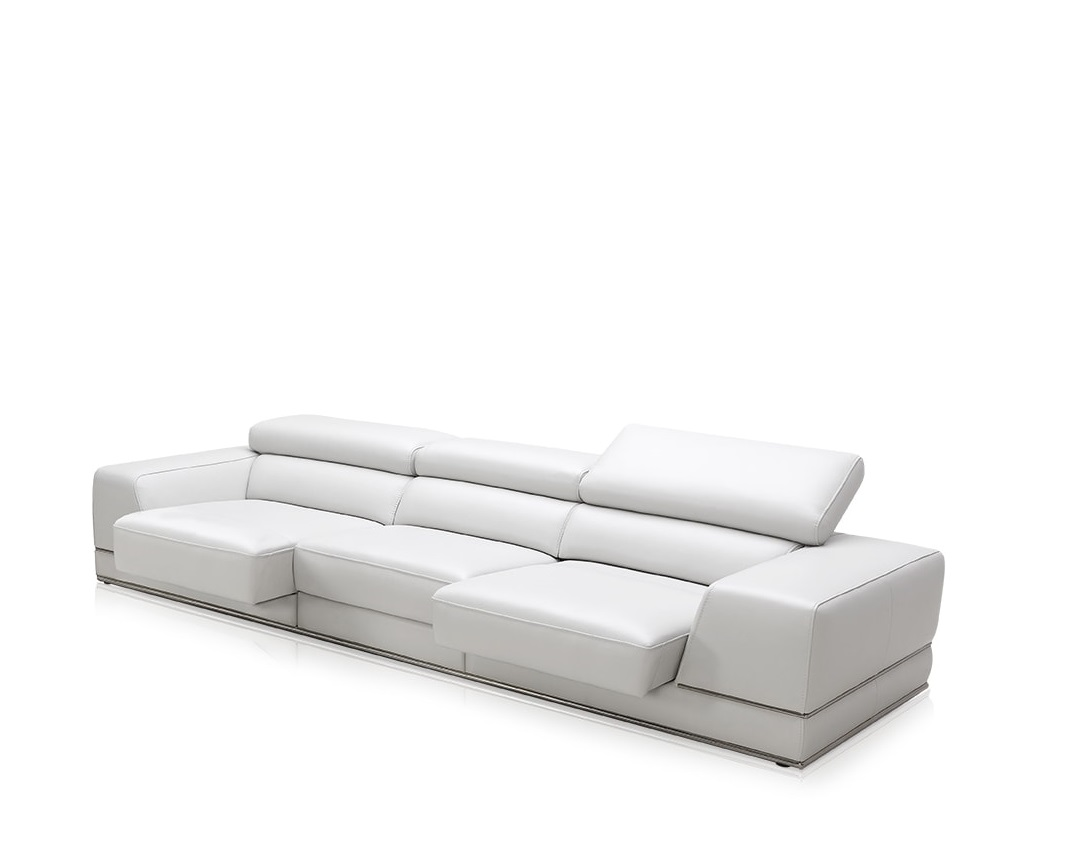 where can i donate my sofa feather slipcover bergamo 3 seater white modern with reclining headrest