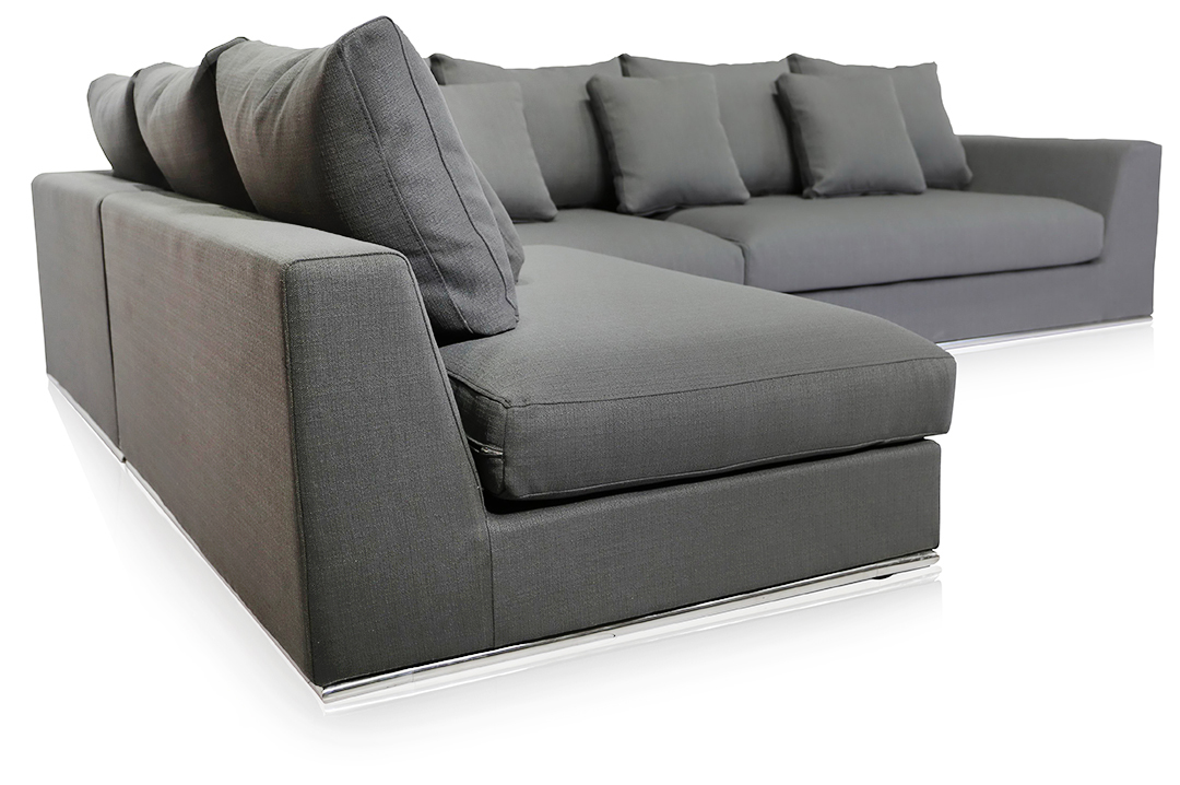 sofa cover cloth rate houzz leather living room gorgeous giovani fabric contemporary in a grey finish