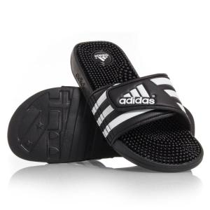Adidas Adissage – Mens Massage Slides – Black/White