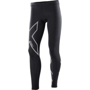 2XU Kids Girls Compression Long Tights – Black/Silver
