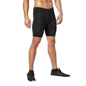 2XU MCS Mens Football Compression Shorts – Black/Nero