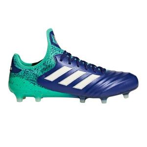 Adidas Copa 18.1 Firm Ground – Mens Football Boots – Unity Ink/Aero Green/Hi-Res Green