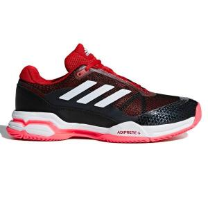 Adidas Barricade Club – Mens Tennis Shoes – Scarlet/White/Black