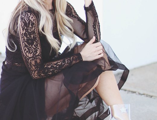 Alena Gidenko of modaprints.com Shares tips on making a black outfit stand out