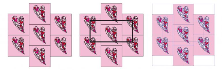 Modarium afbeelding van actie rapport maken voor een dessin in half verzet stap 1 2 en 3