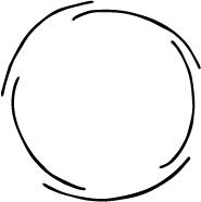 Modarium illustratie van een ecosysteem in een cirkel van 5 delen