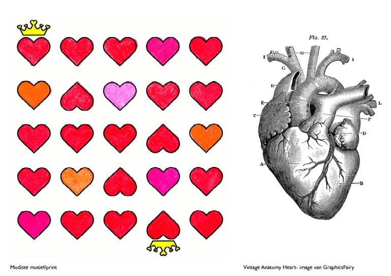 Modarium Liefde en hartjes moodboard 09