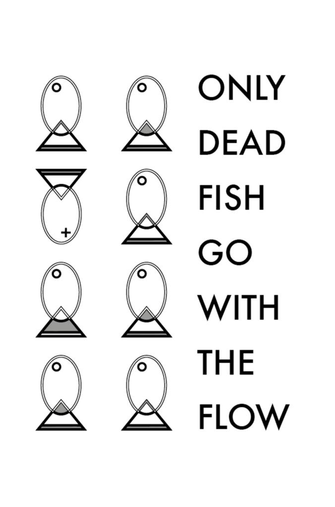 "Modiste ""get the picture"" dead fish"