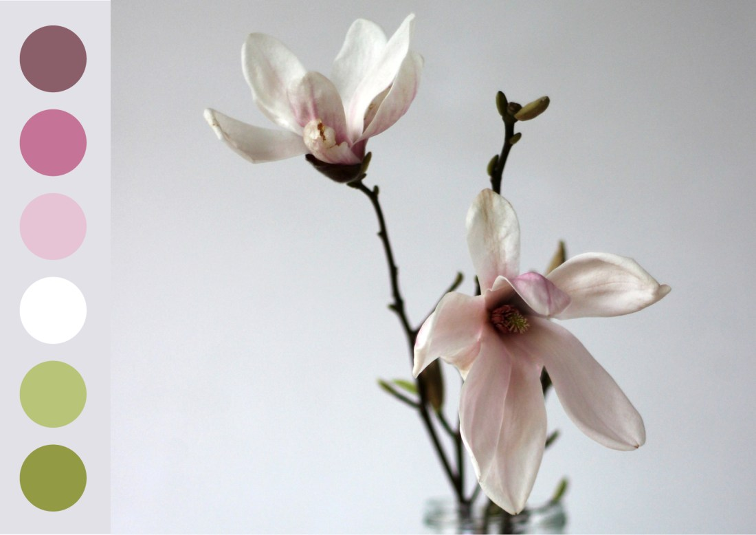 Modarium Magnolia Moodboard 05 met kleurkaart