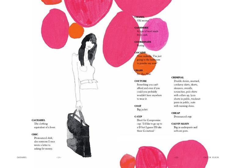 "Modarium afbeelding van pag 14 en 15 van het binnenwerk van het boek ""What on Earth Are You Wearing?"""