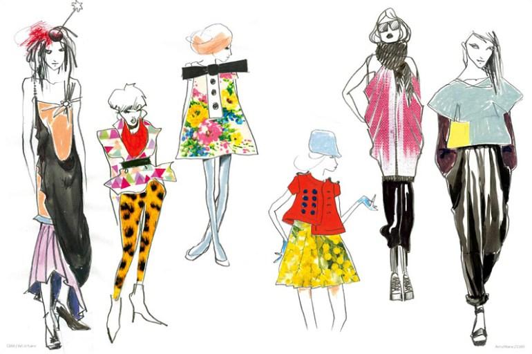 Modarium beeld van The Age of Feminine Drawing binnenwerk 06