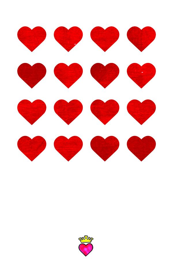 MODISTE wenskaart Lots of love > een echte kaart is zo veel leuker