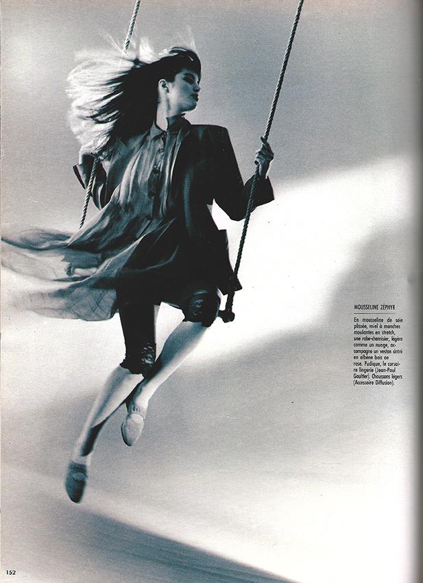 1988 Maart Marie Claire Bis M2516 Les ailes de l'été pag 152
