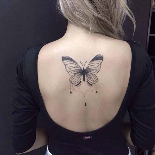 15 Tatuajes Pequeños En La Espalda Para Mujeres Moda Y Chicas