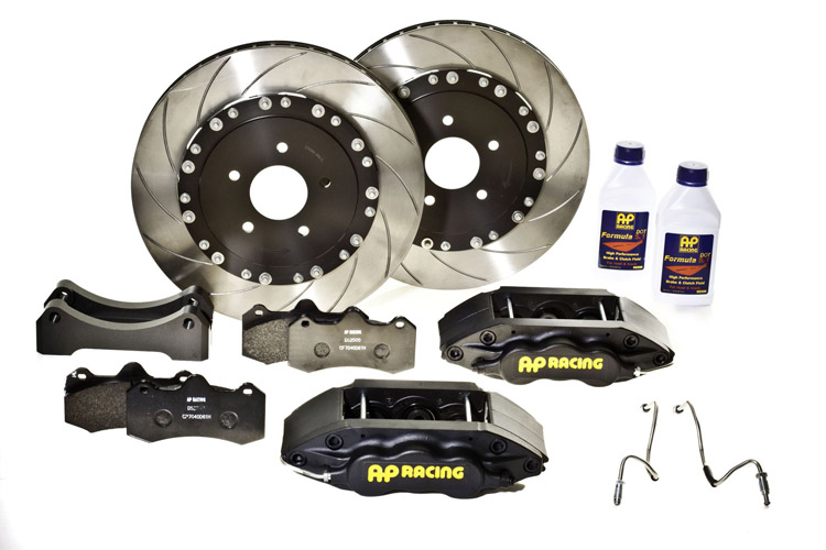 AP Racing Unassembled Big Brake Kit Black