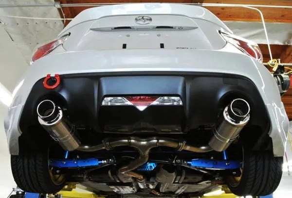 Whats in a name fr s brz exhaust system diagram explained a cat back exhaust for scion fr s toyota 86 or subaru brz is going to include a muffler and a midpipe to connect the system right after the catalytic malvernweather Image collections