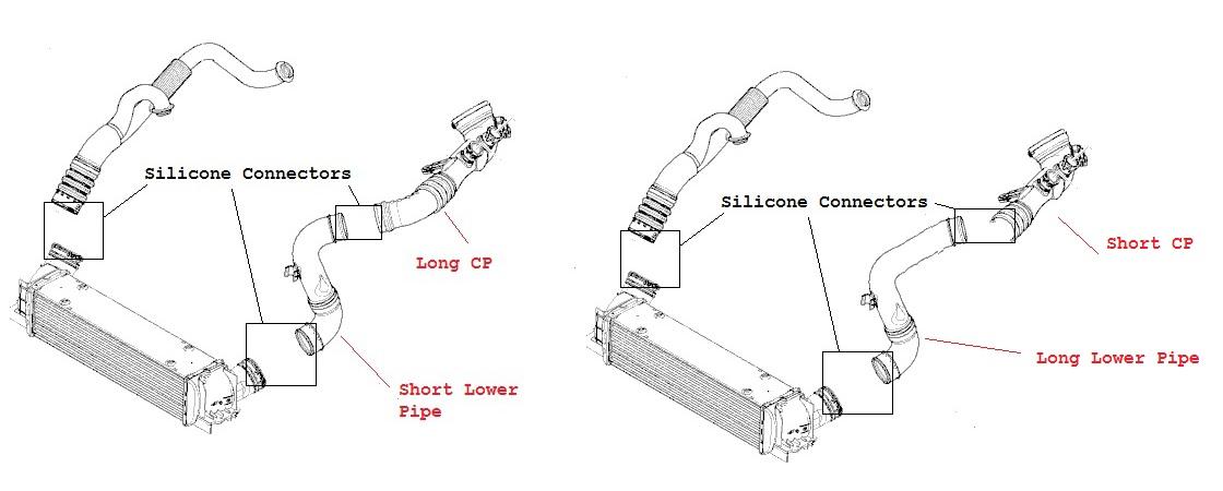 *VRSF Intercooler 7in FMIC Upgrade for 2007-11 N54/N55 BMW