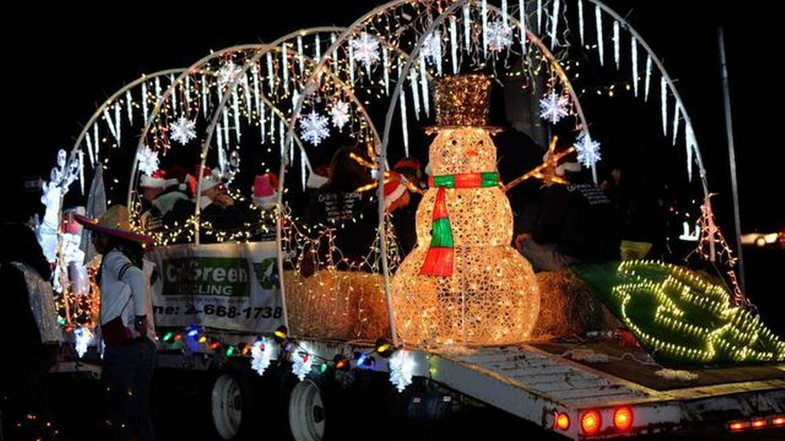 Traditional Parade Lights Float