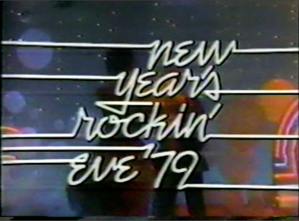 ROCKIN NEW YEARS EVE 1979 TV 1978 DVD modcinema