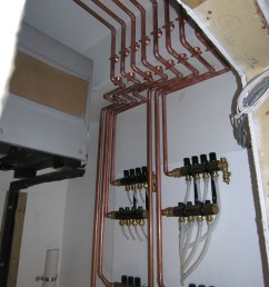there were 4 zones created using zone valves the first floor mixed down to 80 with a fixed mixing valve this job was installed in 2007 before the  [ 857 x 1142 Pixel ]
