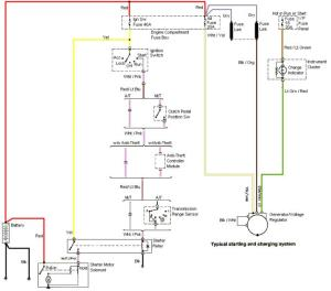 9904 mustang gt charging system wiring diagram  Forums