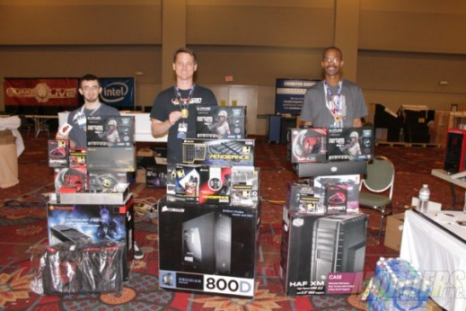 first place winners at the 2012 Modders-Inc/QuakeCon Case Modding Contest