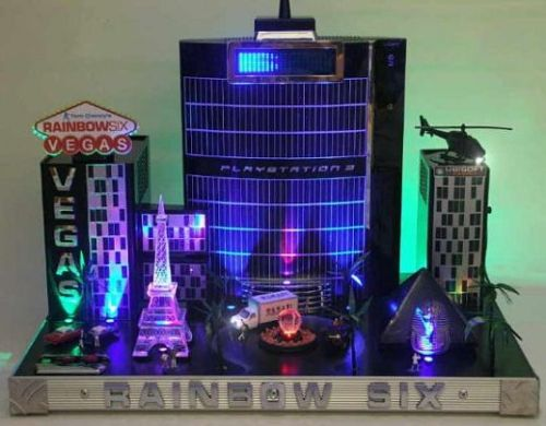PS3 Rainbow Six Case Mod
