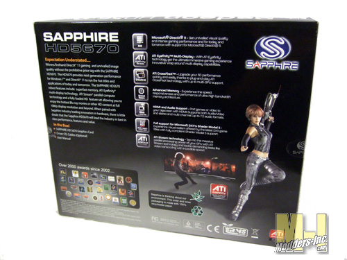 Sapphire HD5670 Graphics Card