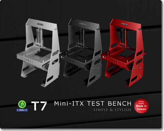Lian Li Pitstop T7 Mini-ITX Test Bench