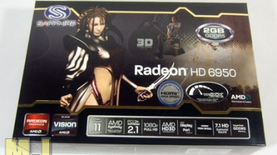 SAPPHIRE HD 6950 2GB Radeon Video Card