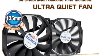 Zalman ZM-F4 135mm Fan