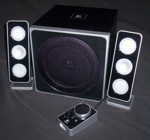 Logitech Z4 2.1 Speakers