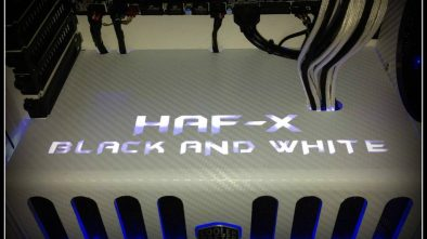 HAF X Black And White PC Mod