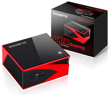 GIGABYTE Launches BRIX Gaming: Discrete Graphics in the Most Compact of Form Factors - GIGABYTE BRIX Gaming Packs AMD Radeon™ R9 M275X Graphics for an Uncompromisingly Fast Gaming PC - americanfreak@gmail.com - Gmail