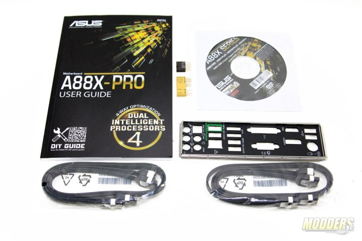 ASUS A88x-Pro Motherboard Accessories
