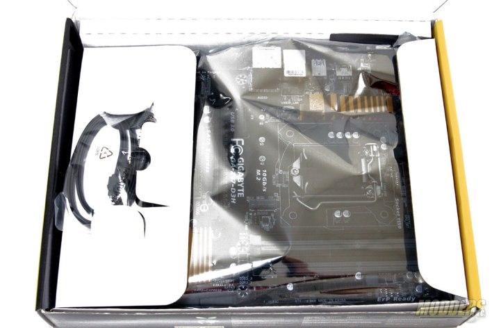 Gigabyte Z97-D3H Packaging