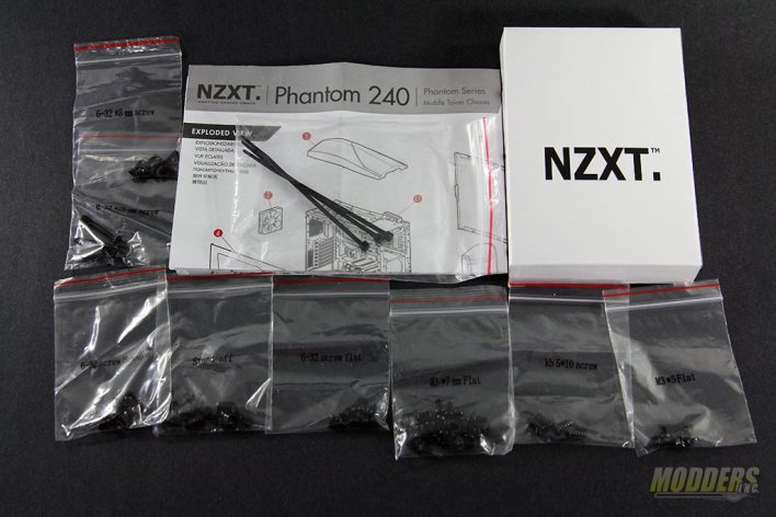 NZXT Phantom 240 Accessories