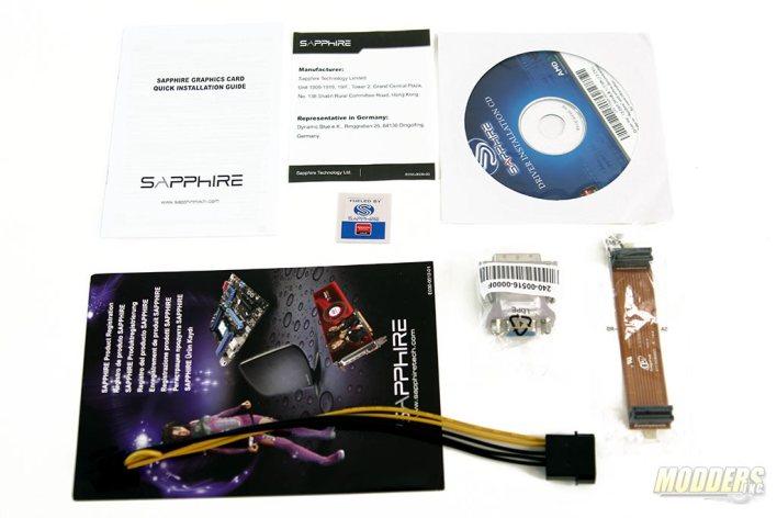 Sapphire R7 260X 100366-3L Accessories