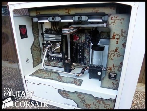 Corsair 760T MARPAT Mod