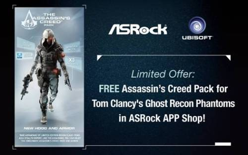 ASRock Partners with Ubisoft to Bundle the Ghost Recon-1