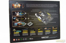 Biostar Hi-Fi Z97Z7 Motherboard Box Rear