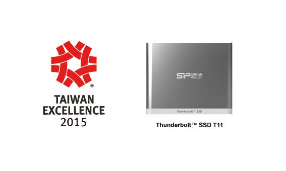 SPPR_Taiwan Excellence Award 2015_Thunderbolt External SSD